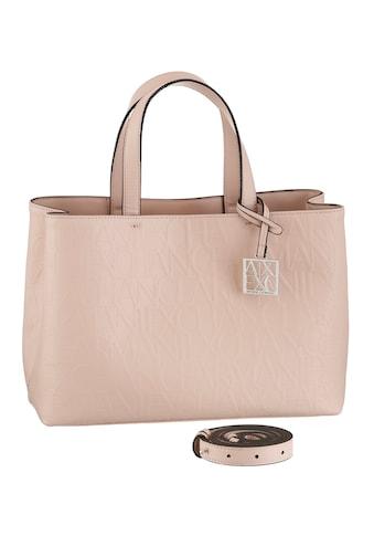 ARMANI EXCHANGE Shopper, mit schöner Logo Prägung im Material kaufen