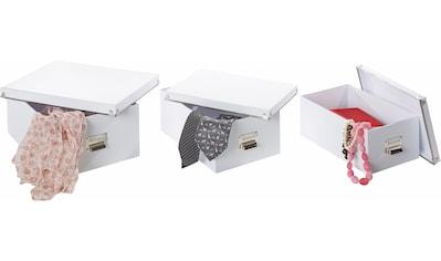 Zeller Present Aufbewahrungsbox, (5-tlg.) kaufen