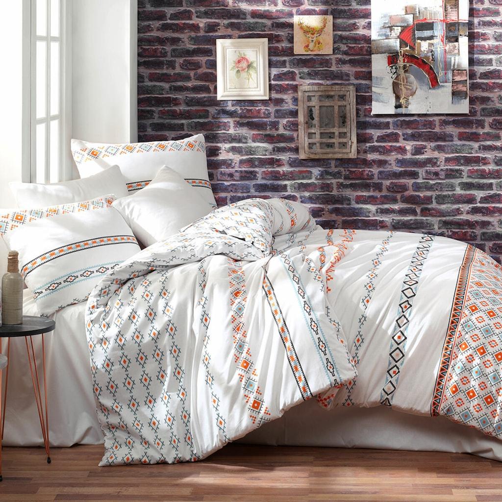 TRAUMSCHLAF Bettwäsche »Etnico«, tolle Haptik und einzigartiges Design