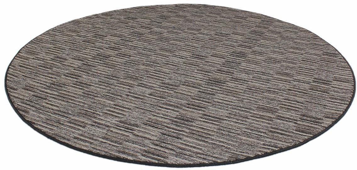 Teppich Torro Living Line rund Höhe 8 mm maschinell gewebt