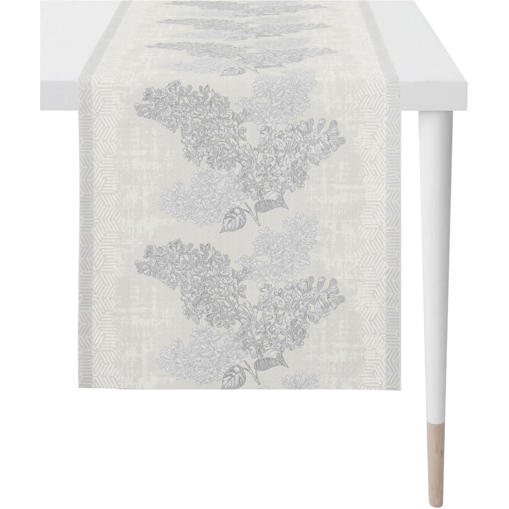 APELT Tischläufer »1616 Springtime«, (1 St.), Jacquardgewebe