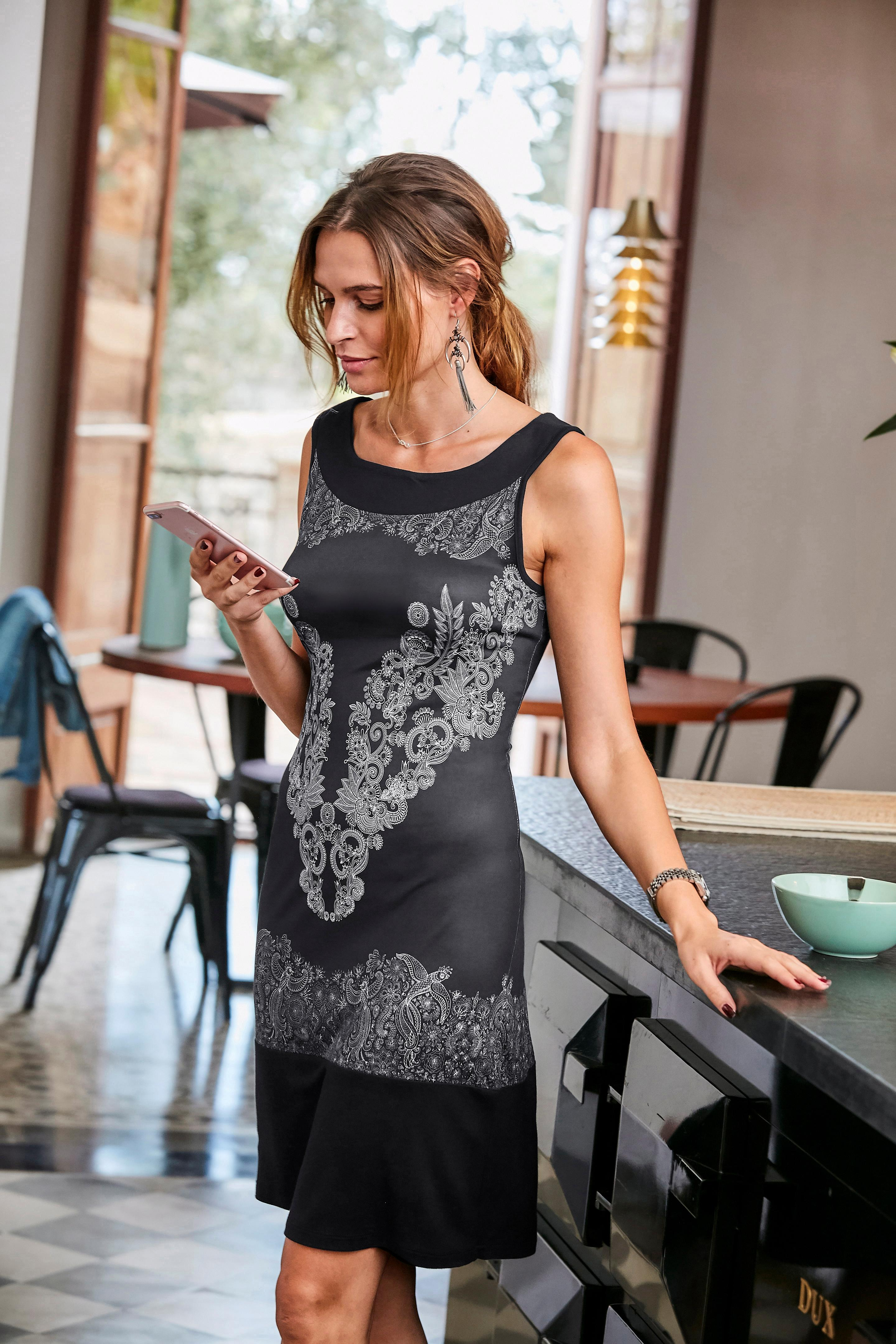 Aniston SELECTED Jerseykleid