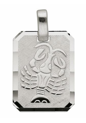 Adelia´s Kettenanhänger »925 Silber Sternzeichen Anhänger Krebs« kaufen