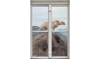 queence Wandsticker »Gepard« kaufen