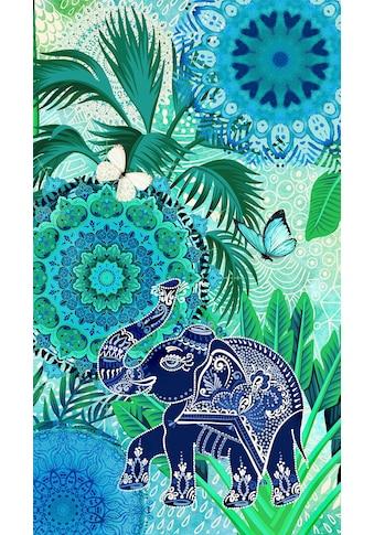 hip Strandtuch »Isara«, (1 St.), mit Mandalas und Elefant kaufen