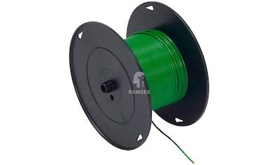 RAMSES Fahrzeugleitung , Grün 1,5 mm² 100 Meter kaufen
