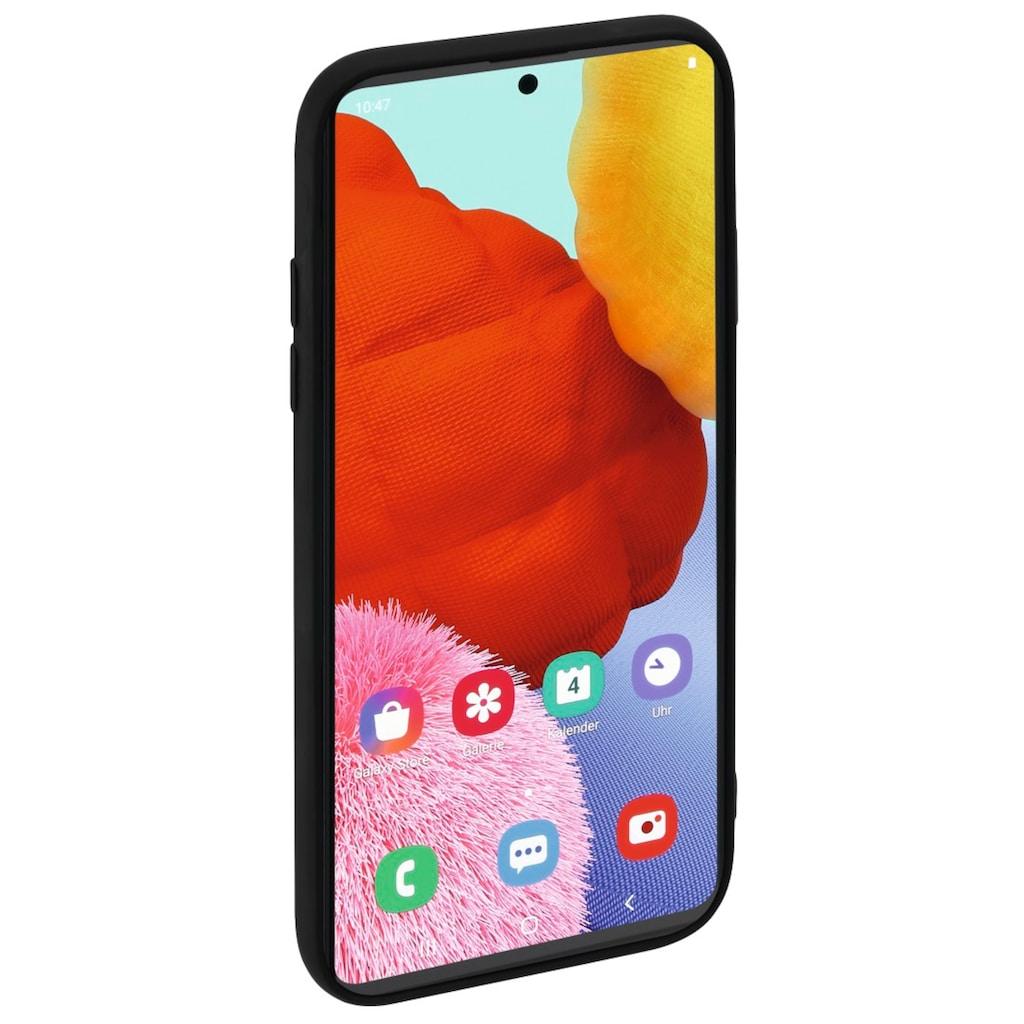 """Hama Smartphone-Hülle »Smartphone-Cover """"Finest Feel""""«, Galaxy A51, für Samsung Galaxy A51"""