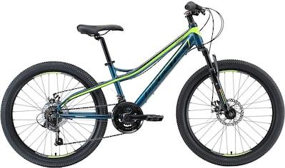 Bikestar Mountainbike, 21 Gang, Shimano, RD-TY300 Schaltwerk, Kettenschaltung kaufen