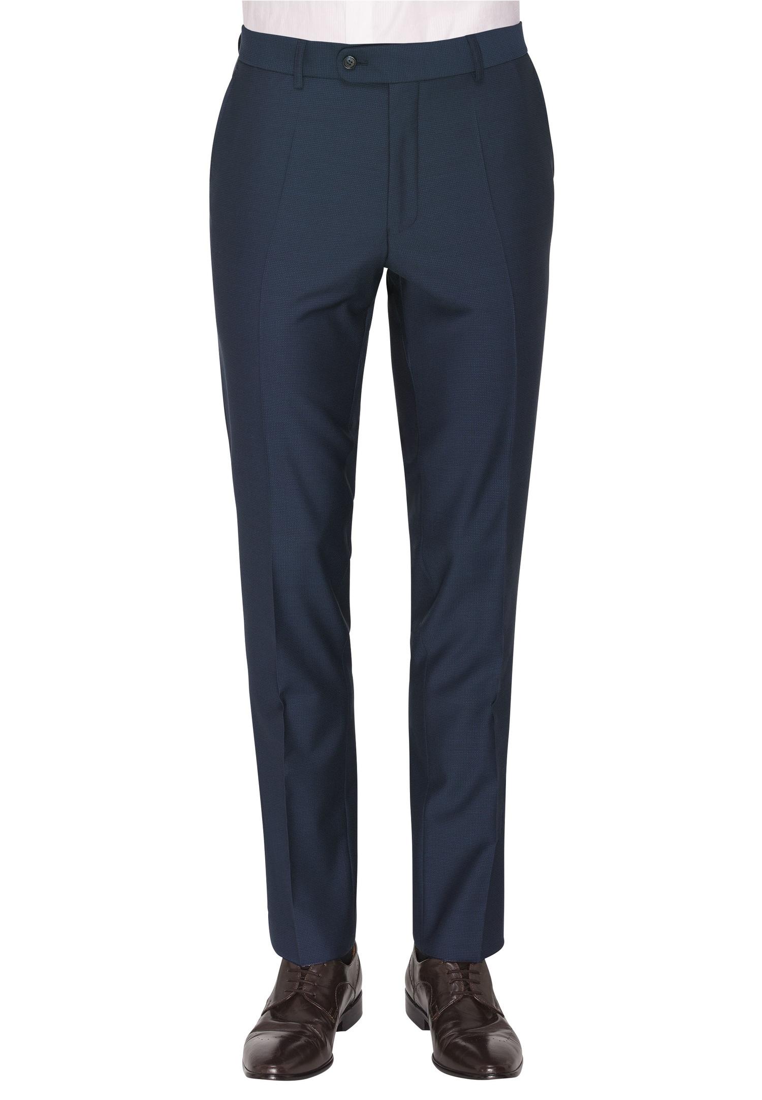 CARL GROSS Anzughose »CG Sascha« | Bekleidung > Hosen > Anzughosen | Blau | Schurwolle - Baumwolle | Carl Gross
