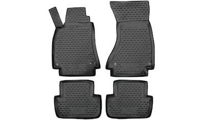 WALSER Passform-Fußmatten »XTR«, Audi, A4-A4, Kombi-Stufenheck, (4 St., 2... kaufen