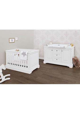 Pinolino® Babymöbel-Set »Emilia«, (Spar-Set, 2 St.), extrabreit; mit Kinderbett und... kaufen