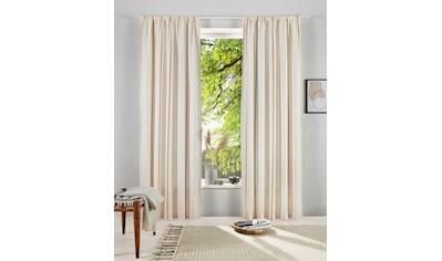 OTTO products Gardine »Matts«, blickdichter Vorhang kaufen