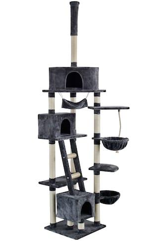 SILVIO DESIGN Kratzbaum - Deckenspanner »Rocky«, B/T/H: 70/50/230 - 250 cm, dunkelgrau kaufen