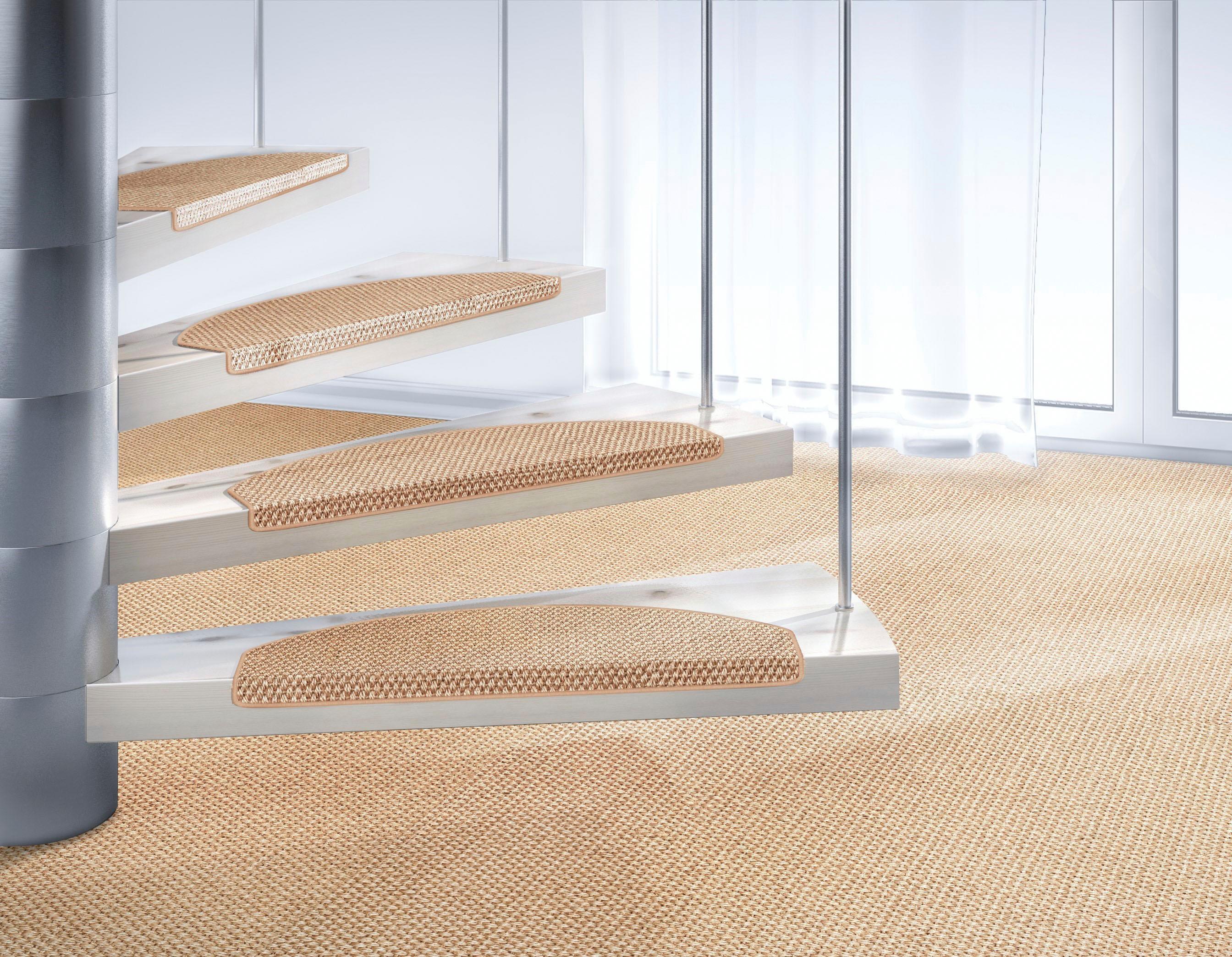 Stufenmatte Brasil Dekowe stufenförmig Höhe 10 mm maschinell gewebt