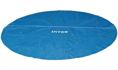 Intex Solarabdeckplane, 448 cm Durchmesser, mit Transporttasche kaufen