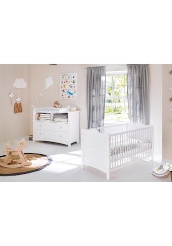 Pinolino® Babymöbel-Set »Florentina«, (Spar-Set, 2 St.), extrabreit; mit Kinderbett... kaufen