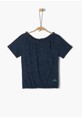 s.Oliver Jersey - T - Shirt_für Mädchen kaufen