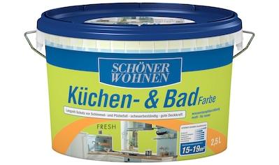 SCHÖNER WOHNEN-Kollektion Feuchtraumfarbe »Küche/Badfarbe, fresh«, 2,5 l kaufen