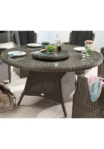 DESTINY Tisch »Luna«, Polyrattan, Ø 150 cm kaufen