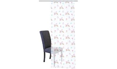 Vorhang, »EINHORN«, HOME WOHNIDEEN, Schlaufen 1 Stück kaufen