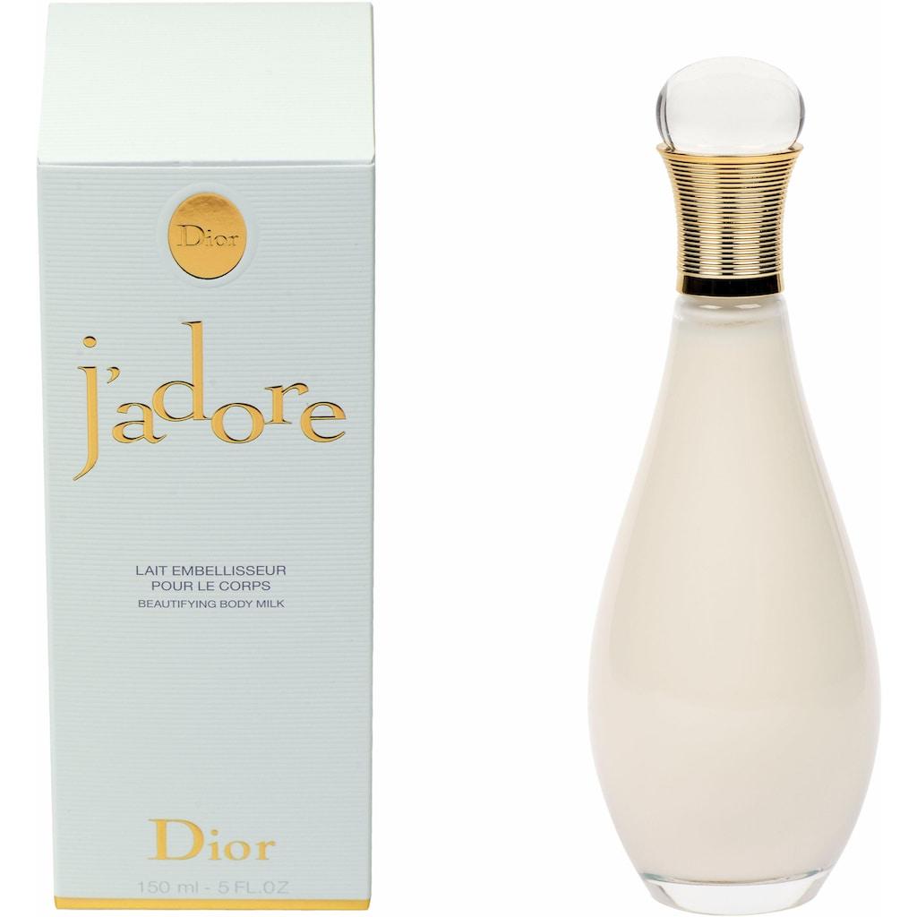 Dior Bodylotion »J'adore«, Leichte Textur aus Baumwoll-Nektar und Jasminblüten
