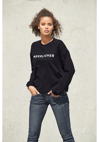 Herrlicher Sweatshirt »OTINA«, mit Statement-Druck kaufen