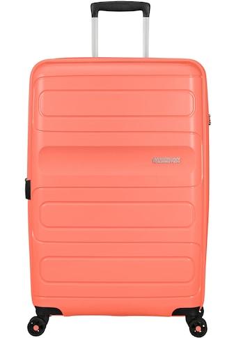 American Tourister® Hartschalen-Trolley »Sunside, 77 cm«, 4 Rollen, mit Volumenerweiterung kaufen