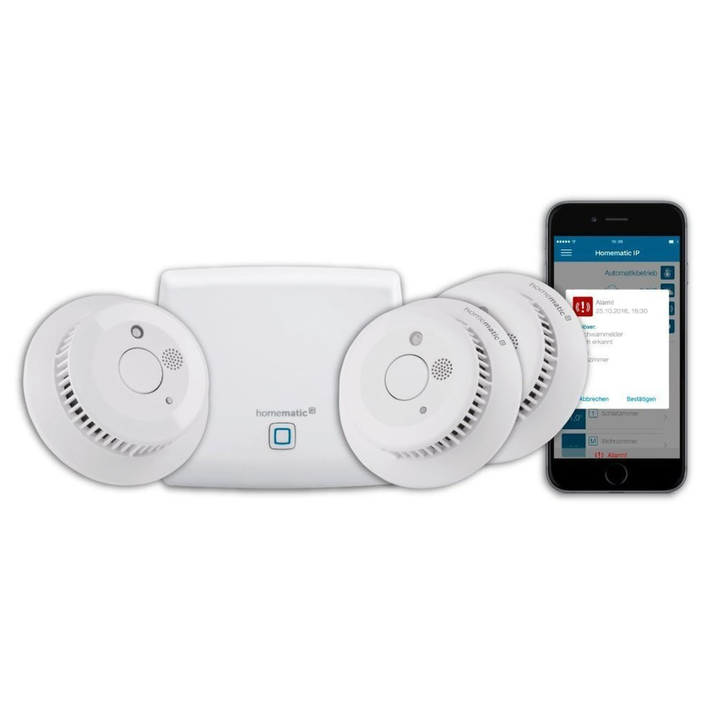 Homematic IP Smart Home »Starter Set Rauchwarnmelder (150788A0)«