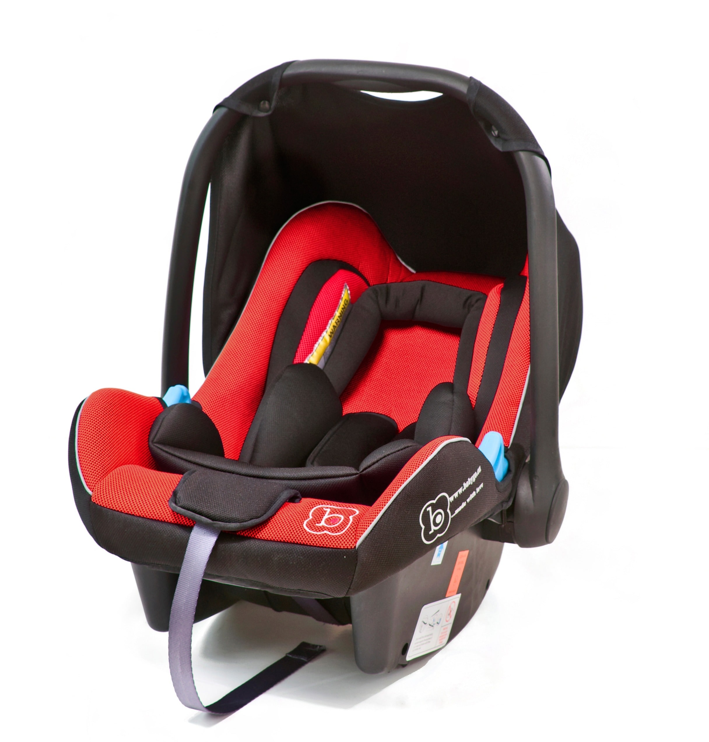 BabyGo Babyschale Travel XP, Klasse 0+ (bis 13 kg) rot Baby Babyschalen Autositze Zubehör