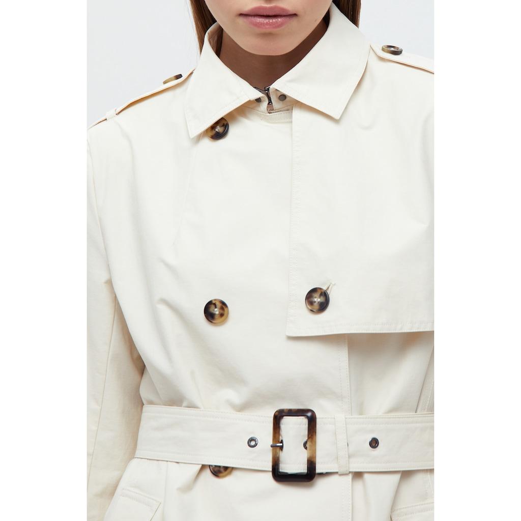 Finn Flare Trenchcoat »-«, mit praktischem Gürtel