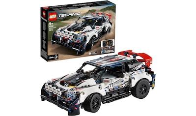 LEGO® Konstruktionsspielsteine »Top-Gear Ralleyauto mit App-Steuerung (42109), LEGO® Technic«, (463 St.) kaufen