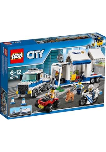 """LEGO® Konstruktionsspielsteine """"Mobile Einsatzzentrale (60139), LEGO® City"""", Kunststoff, (374 - tlg.) kaufen"""