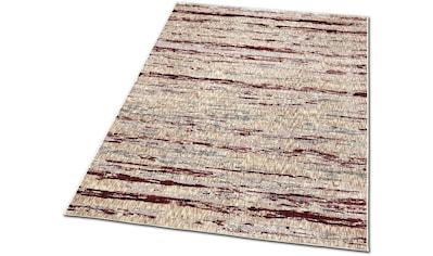 Dreams Teppich »Jaquard Streifen«, rechteckig, 6 mm Höhe, modernes Design, Wohnzimmer kaufen