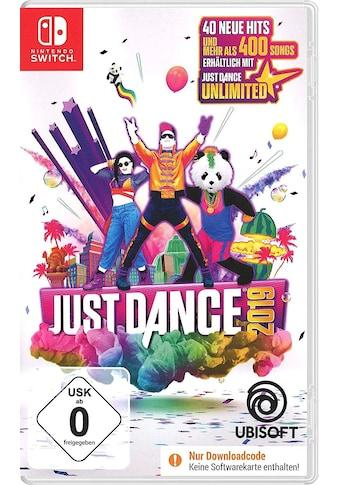 UBISOFT Spiel »Just Dance 2019«, Nintendo Switch kaufen
