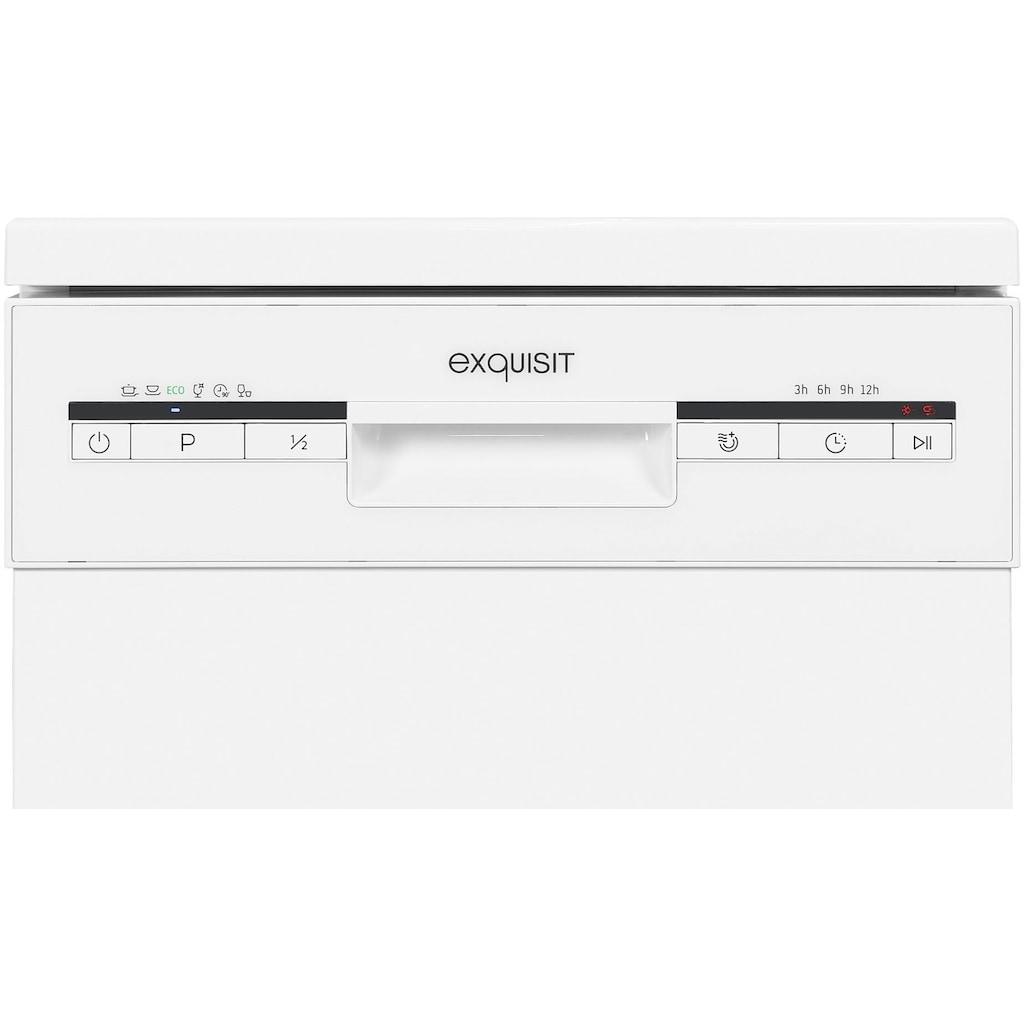 exquisit Standgeschirrspüler »GSP9109-030E weiss«, GSP9109-030E weiss, 9 l, 9 Maßgedecke
