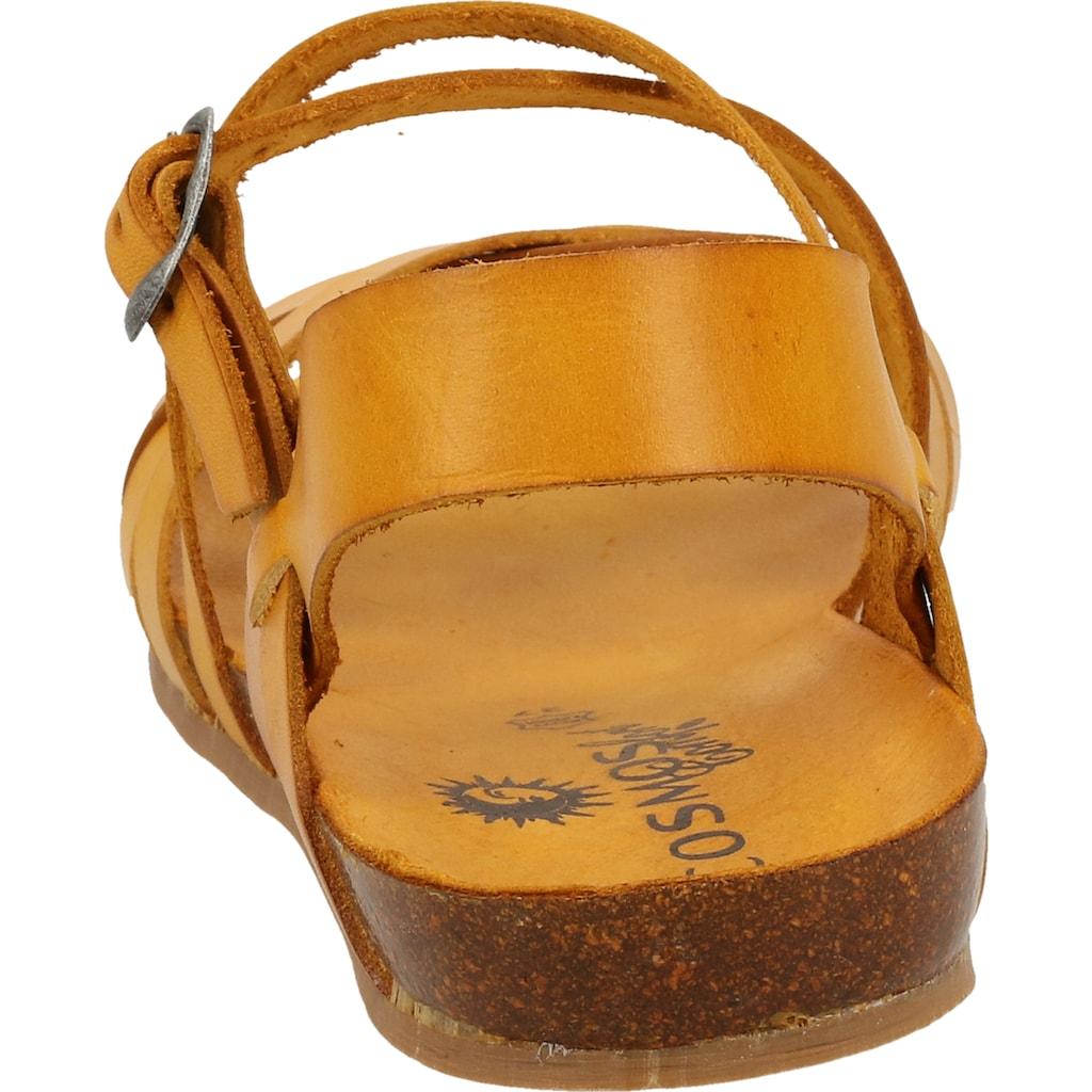 COSMOS Comfort Riemchensandale »Leder«