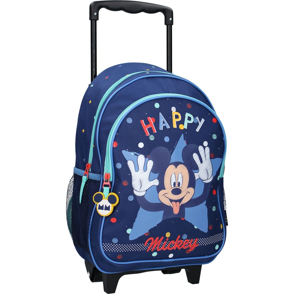 Vadobag Kinderkoffer »Mickey Mouse Happiness«, 2 Rollen