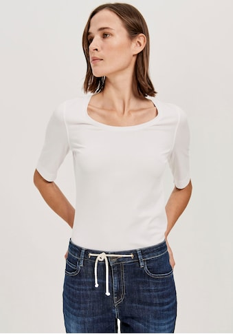 OPUS Langarmshirt »Sanika«, im Basic-Look kaufen