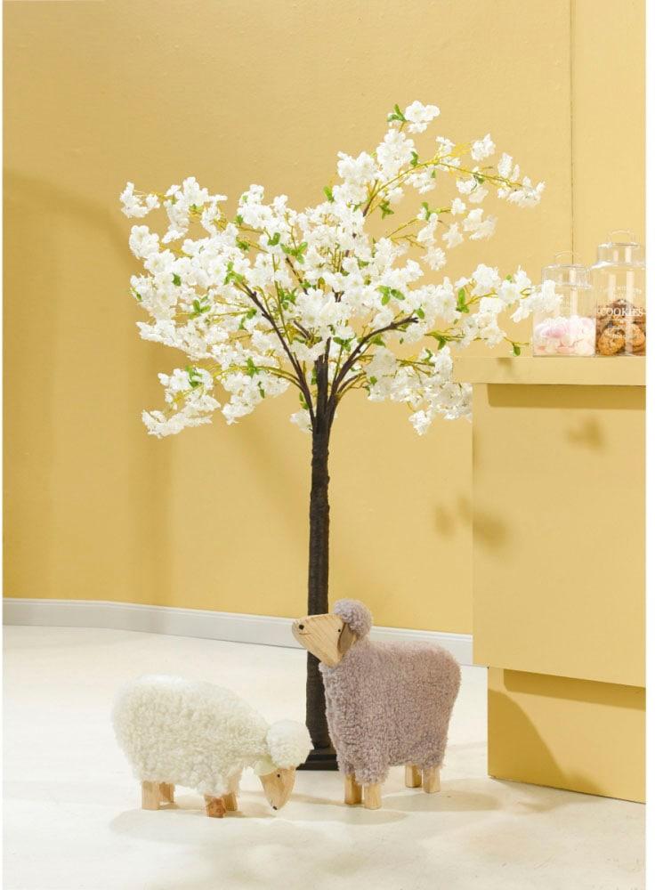 Schneider Kunstbaum, Maße (B/H): 90/180 cm weiß Künstliche Zimmerpflanzen Kunstpflanzen Wohnaccessoires Kunstbaum
