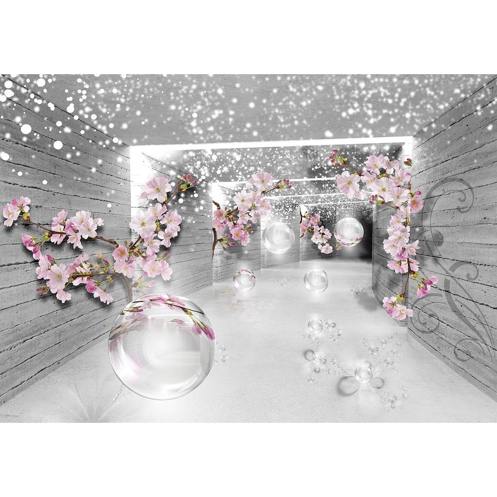 Consalnet Vliestapete »3D Magischer Tunnel«, verschiedene Motivgrößen, für das Büro oder Wohnzimmer