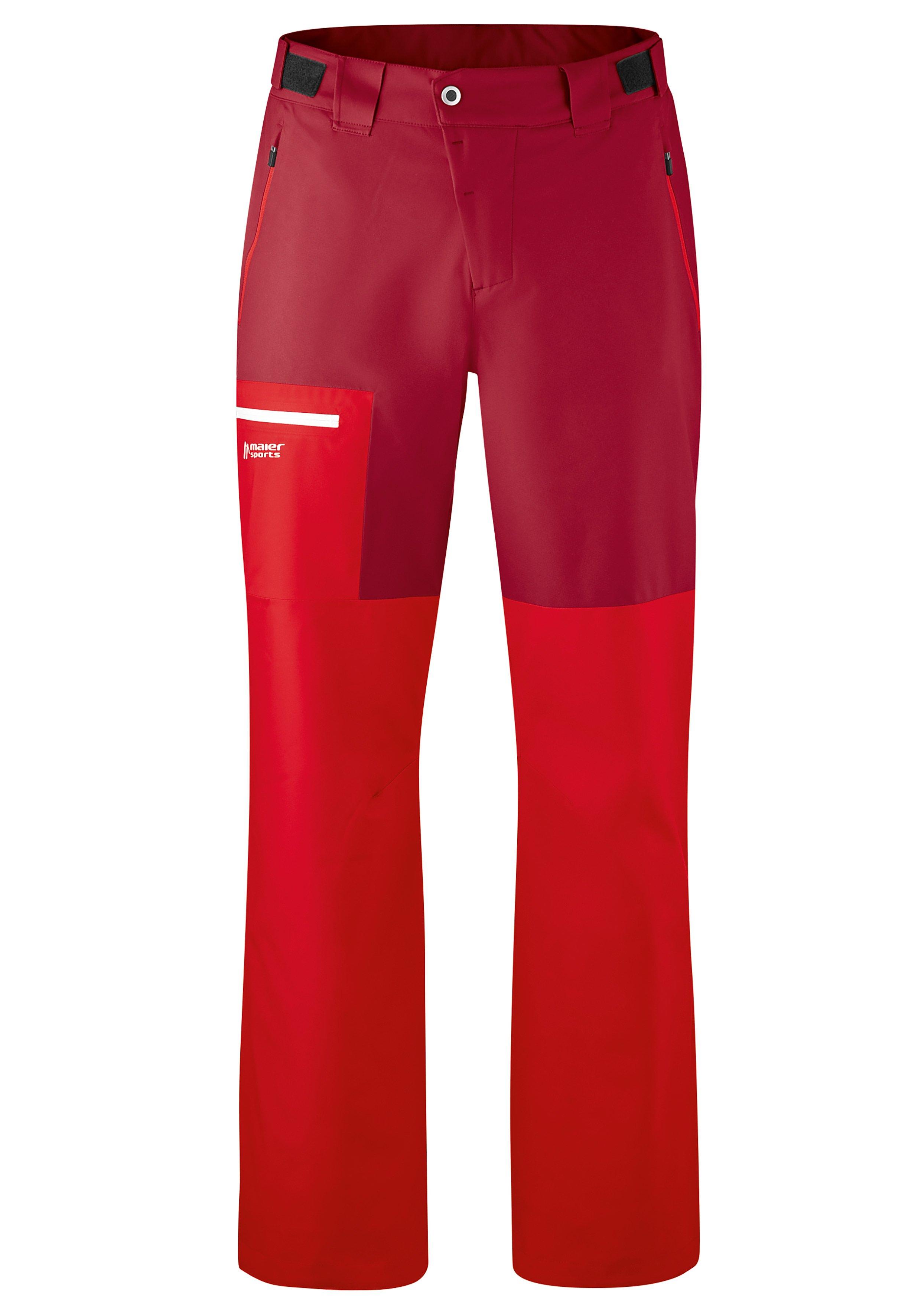 Maier Sports Funktionshose Diabas M | Sportbekleidung > Sporthosen | Rot | maier sports