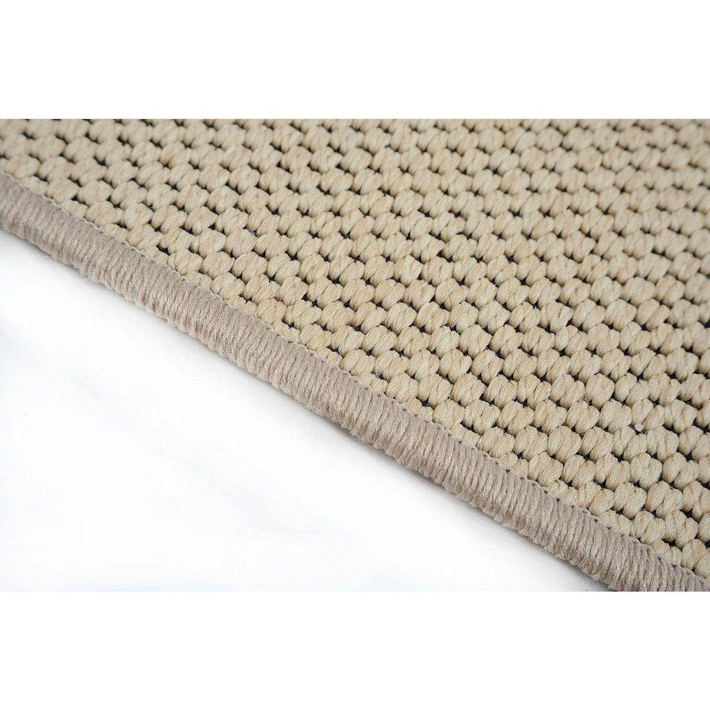 Living Line Läufer »Sahara«, rechteckig, 5 mm Höhe, Teppich-Läufer, Flachgewebe, gewebt, Sisal-Optik