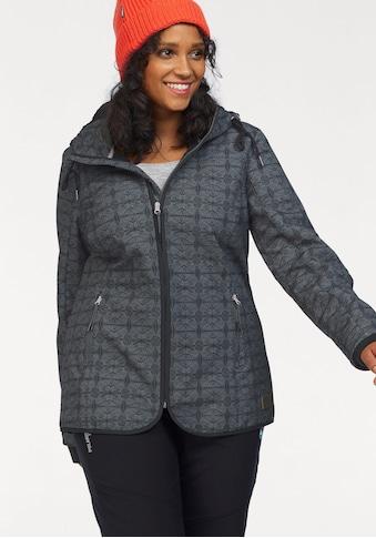 Ocean Sportswear Softshelljacke, Kapuze mit kuscheligem Fleece gefüttert kaufen