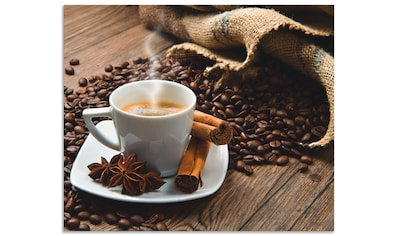 Artland Küchenrückwand »Kaffeetasse Leinensack mit Kaffeebohnen« kaufen