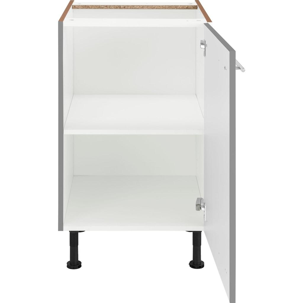 OPTIFIT Unterschrank »Bern«, 50 cm breit, mit 1 Tür mit höhenverstellbaren Füßen, mit Metallgriff