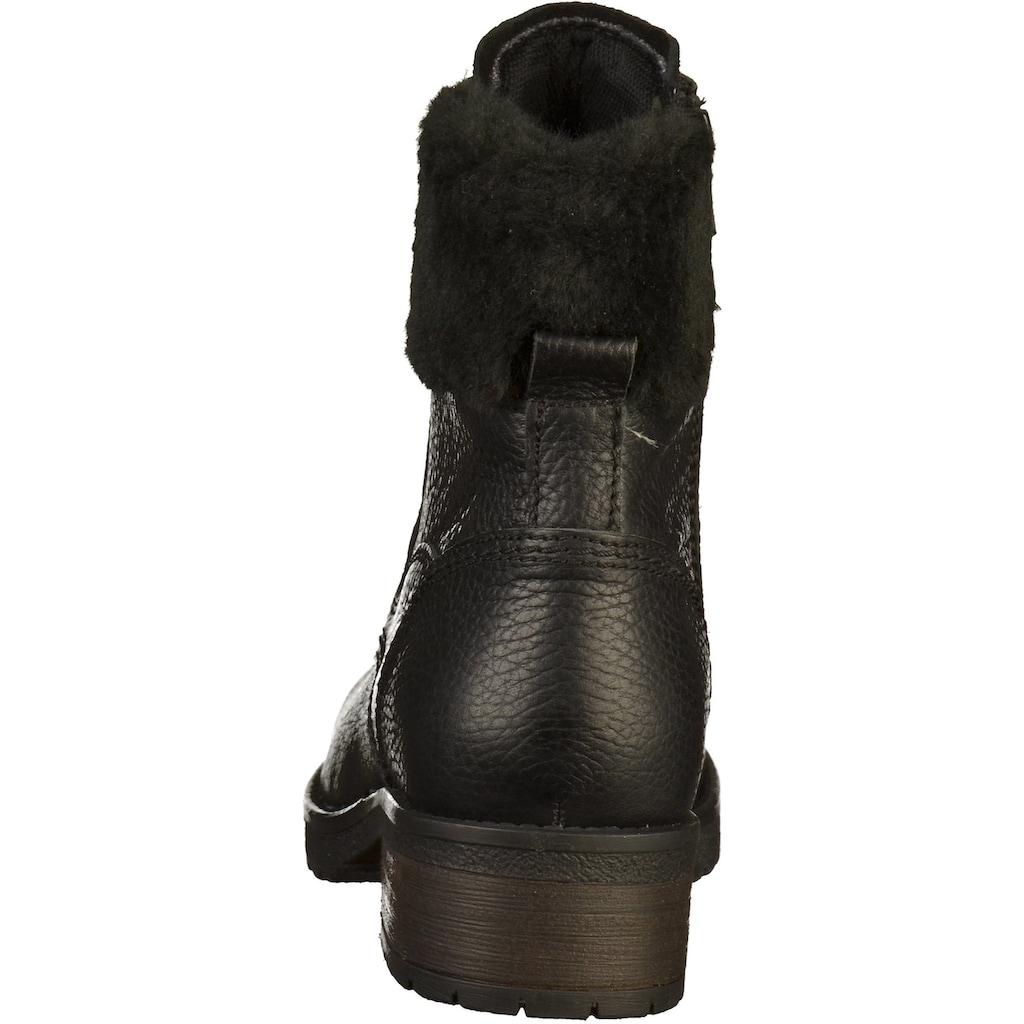 Bullboxer Schnürstiefelette »Leder«