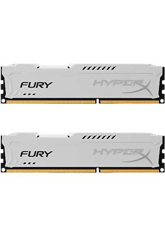 HyperX »Fury DDR3 1600MHz 16GB (2x 8GB)« PC - Arbeitsspeicher kaufen