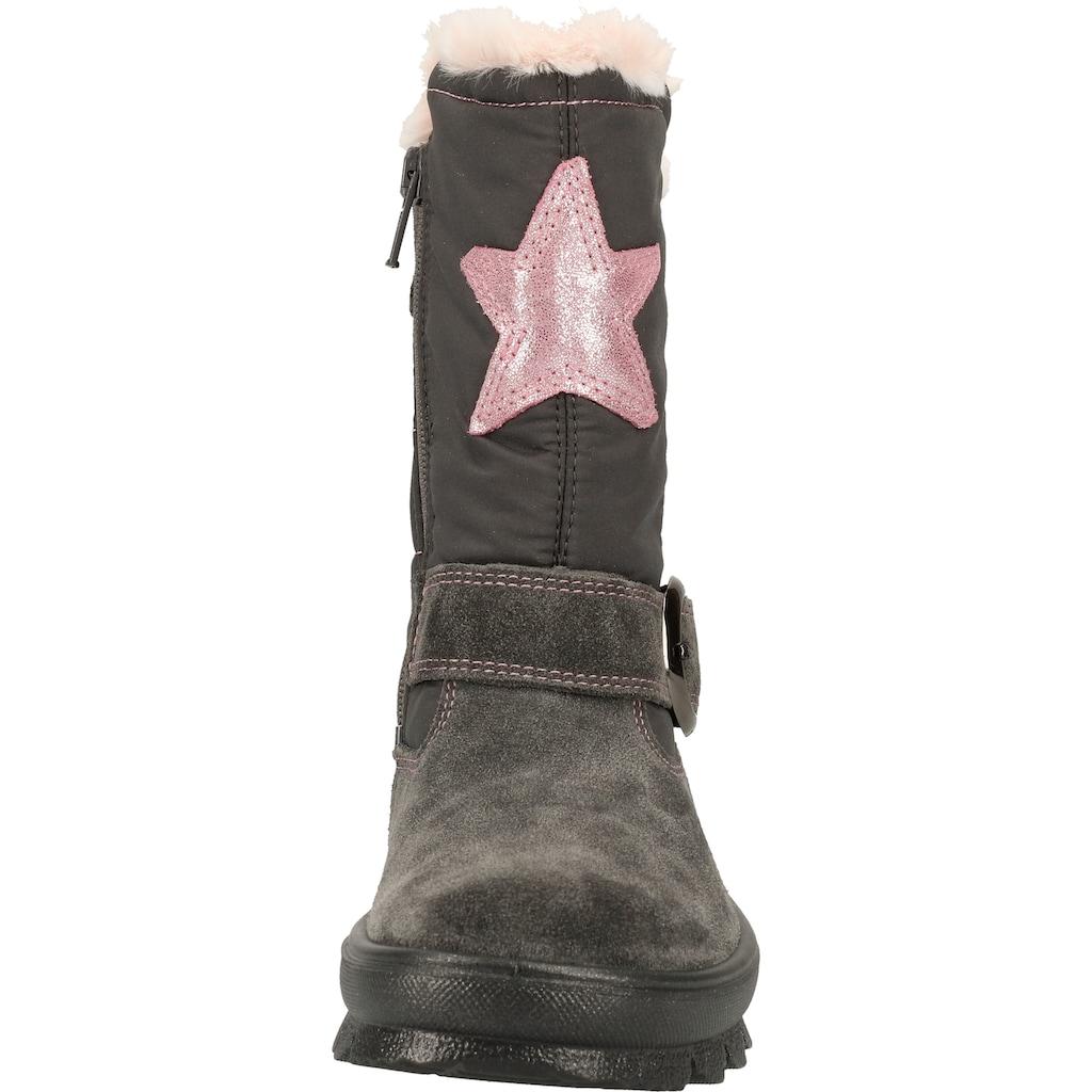 Superfit Stiefel »Velourleder/Textil«