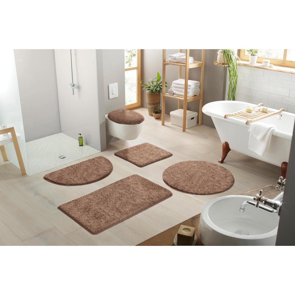 my home Badematte »Sanremo«, Höhe 30 mm, Besonders weich durch Microfaser