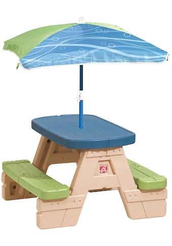Step2 Kindersitzgruppe »Sit & Play«, Picknicktisch, BxTxH: 71x74x46 cm kaufen